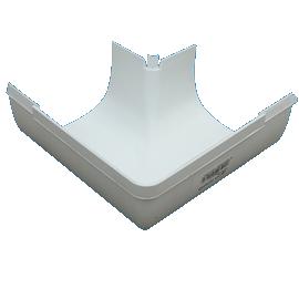 Pvc D Shape Gutter Angle Deltaplastics Co Za